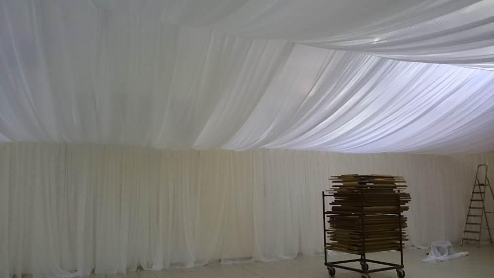 tentures et voilages pour mariages
