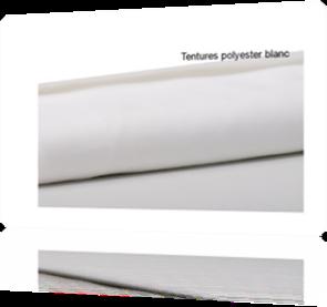 rouleau  100m tentures tissu blanc mariage