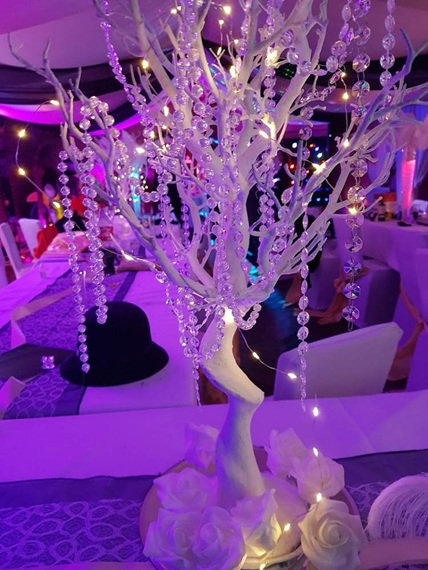 arbre table mariage