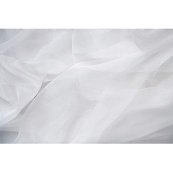tissu mousseline blanche pour decoration mariage